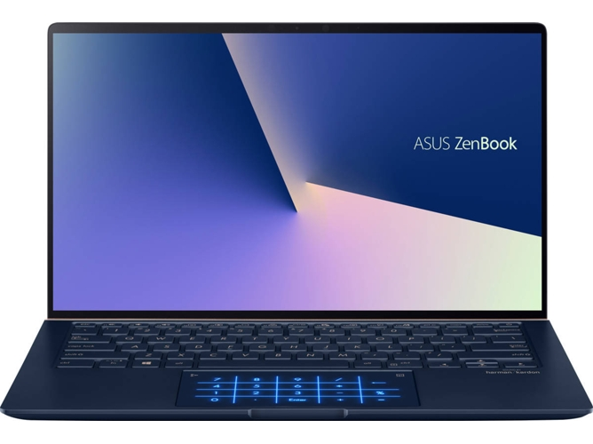 Portátil ASUS ZenBook 14 - UX433FA-A5121T (14'' - Intel Core i7-8565U - RAM: 16 GB - 512 GB SSD - Intel UHD 620) — Windows 10 Home