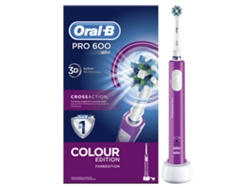 Cepillo Dental Oral-B PRO600 Morado Cross Action
