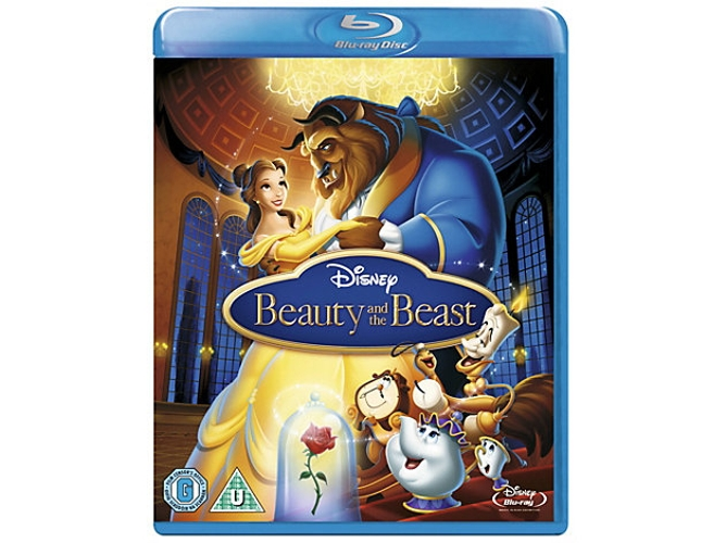 Blu-Ray Beauty & the Beast Inglés