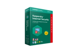 Software KASPERSKY Inter Security 3 usuario 1 año