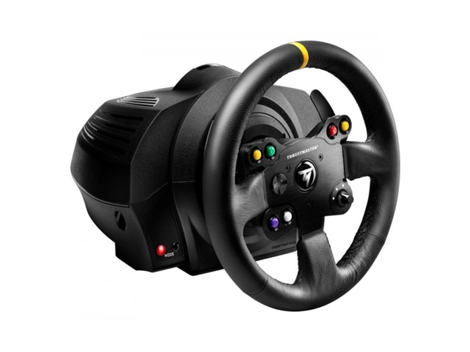 Volante Xbox One/ Pc THRUSTMASTER TX Racing Wheel Leather Edition — Compatibilidad: Xbox One y Pc | Con pedales
