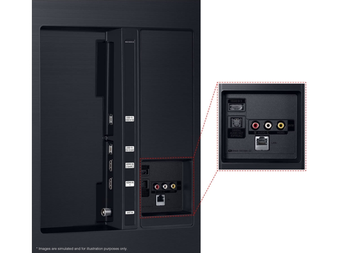 "Samsung QE75Q6FN 75"" QLED UltraHD 4K"