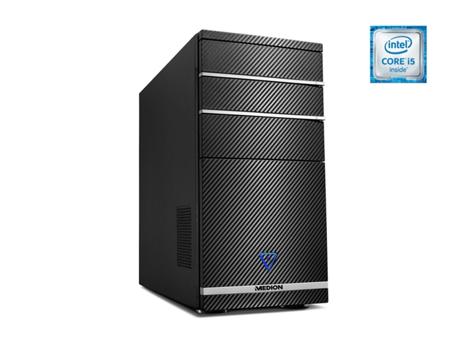 PC Sobremesa MEDION M11 1TB — Intel Core i5 | RAM 8GB | Disco duro 1 TB | Windows 10