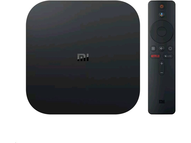 Reproductor Multimedia 4K Ultra HD XIAOMI Mi Box S — 8 GB | Bluetooth 4.2 | Wi-Fi