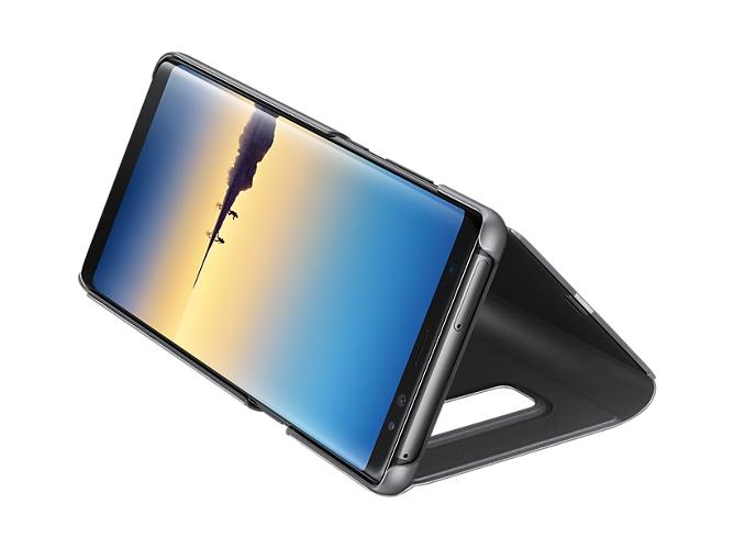 17fab17d525 Funda SAMSUNG Clear View Galaxy Note 8 negro - WORTEN