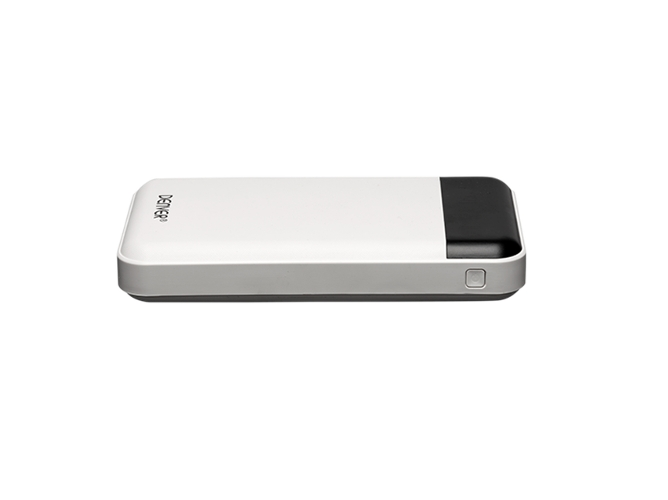Powerbank DENVER PBA-12000 (12000 mAh - 2 Puertas USB - Blanco) — 12 000 mAh