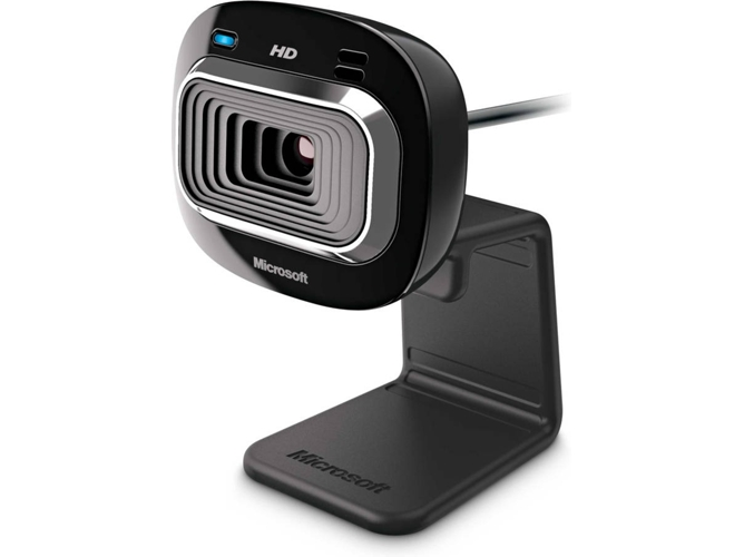 Webcam MICROSOFT LIFECAM HD-3000 (1 MP - Con Micrófono) — USB 2.0