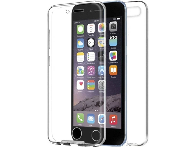 Funda iPhone 6 de silicona transparente - Imprenta Digital