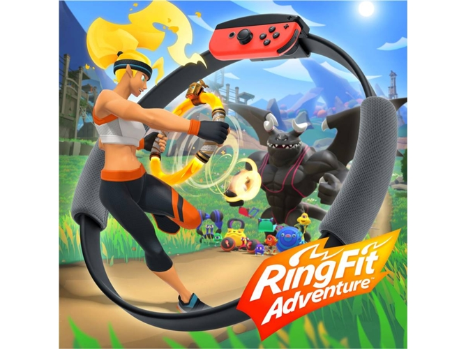 Juego Nintendo Switch Ring Fit Adventure (Fitness - M3)