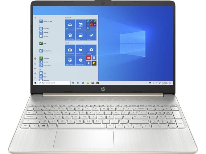Portátil HP 15S-FQ1066NS (15.6'' - Intel Core i7-1065G7 - RAM: 8 GB - 256 GB SSD PCIe - Intel Iris Plus)