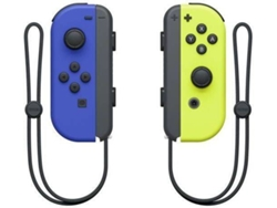 Set de 2 Mandos Joy-Con para Nintendo Switch (Azul / Amarillo)