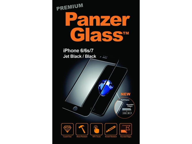 67ccf0ac886 Protector de Pantalla PANZERGLASS Apple iPhone 6, 6s, 7 ,8