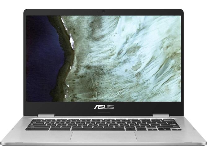 Portátil ASUS Chromebook Z1400CN-BV0305 (14'' - Intel Pentium N4200 - RAM: 8 GB - 64 GB eMMC - Intel HD Graphics 505)