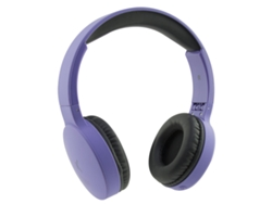 Auriculares bluetooth KSIX Go&Play Travel morado