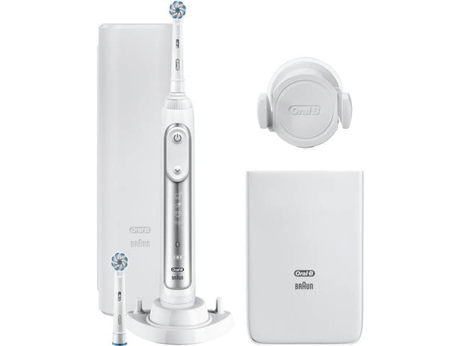 Cepillo de Dientes ORAL-B Genius 8600 Blanco (45.000 rpm)