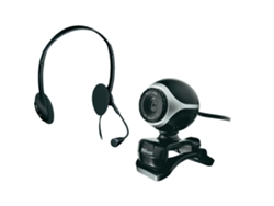 Webcam + Auricular TRUST Exis Chatpack ( Auriculares con microfóno)