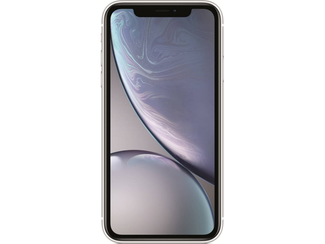 iPhone XR APPLE (6.1'' - 3 GB - 128 GB - Blanco) — 3 GB RAM | Single SIM | 1 Cámara trasera