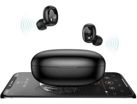 Auriculares Bluetooth ROLLME JOYROOM JR-T08 (In Ear - Micrófono - Negro)