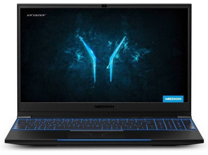 Portátil Gaming MEDION Erazer X6807 (Intel Core i7-8750H - NVIDIA GeForce GTX 1060 - RAM: 16 GB - 512 GB SSD PCIe - 15.6'')