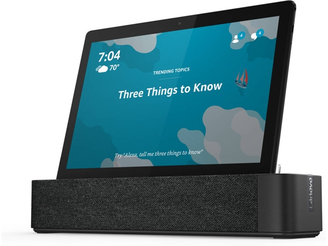 Tablet LENOVO Smart Tab M10 - ZA510024ES (10.1'' - 32 GB - 2 GB - Smart Dock) — Smart Dock | HD | 5 MP + 2 MP
