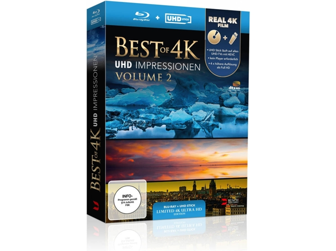 Blu-Ray 4K Best of 4K - UHD Impressionen Volume 2 - Limited Edition