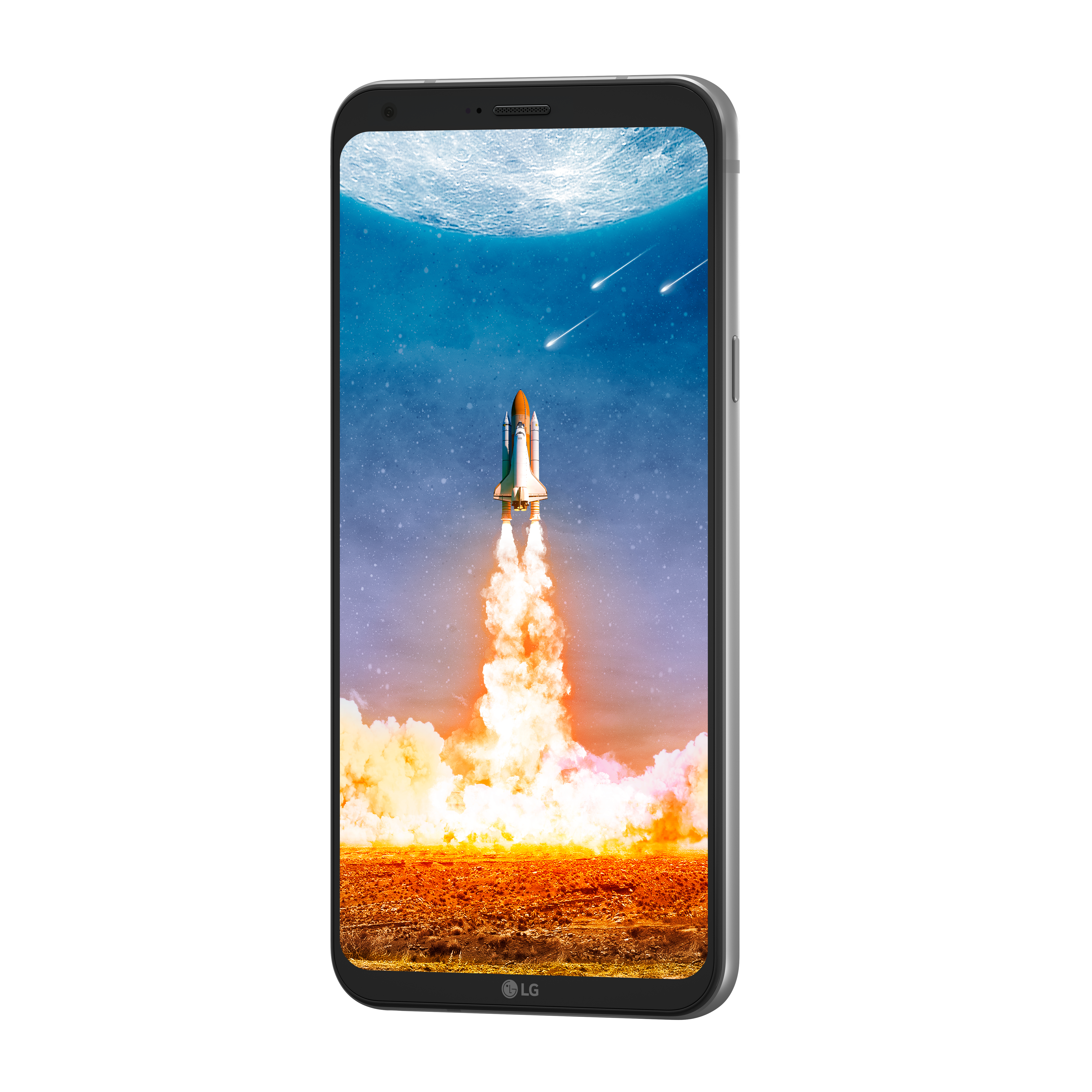 Smartphone-LG-Q6-Plata