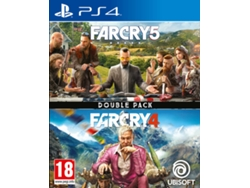 Juego PS4 Far Cry 4 + Far Cry 5 (Double Pack - FPS - M18)