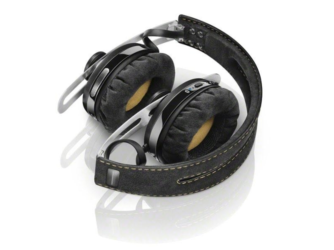 Auriculares Bluetooth SENNHEISER Momentum 2 Inalámbricos (On ear - Micrófono - Negro) — On Ear