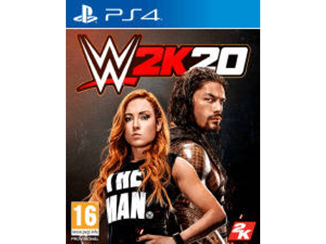 Juego PS4 WWE 2K20 (Lucha - M16)