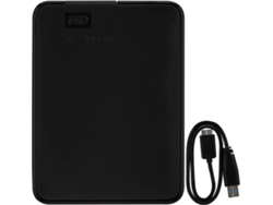 Disco HDD Externo WESTERN DIGITAL Elements (Negro - 1.5 TB - USB 3.0) — 2.5'' | 1.5 TB | USB 3.0