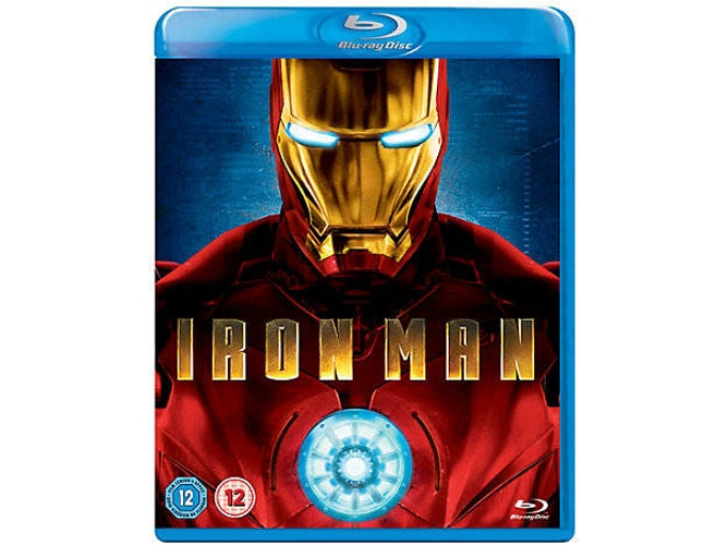 Blu-Ray Iron Man Inglés
