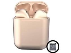 Auriculares Bluetooth True Wireless KLACK InPods 12 (In Ear - Rosa Metalizado)