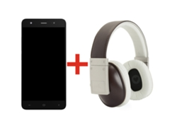 Smartphone INNJOO FIRE 2 Gris + Auriculares POLK