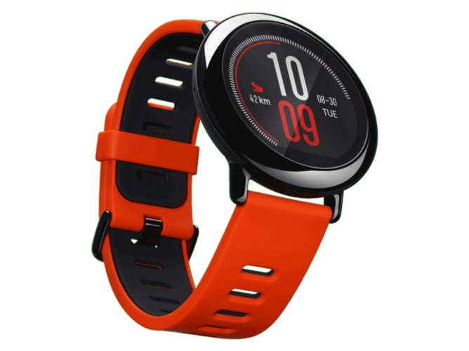 Smartwatch AMAZFIT Pace Rojo — Bluetooth 4.0 y Wi-Fi | 280 mAh | Android e iOS