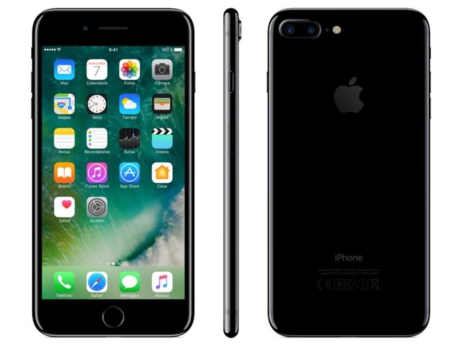 ce1c8f327b7 iPhone 7 Plus APPLE (5.5'' - 3 GB - 128 GB - Negro Brillante) - WORTEN