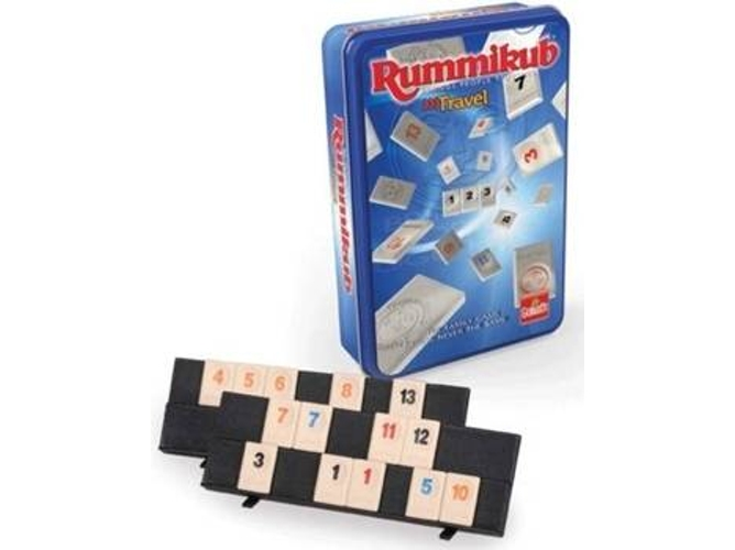 Juego de Mesa GOLIATH Rummikub The Original Travel Tour Edition (Edad Mínima: 6)