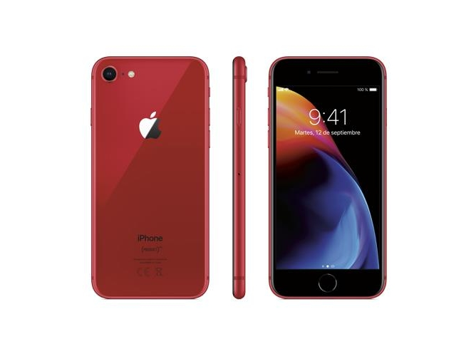 iPhone 8 APPLE (4.7'' - 2 GB - 64 GB - Rojo)