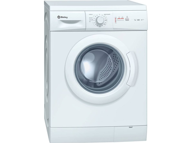 Lavadora BALAY 3TS775BE (7 kg - 1200 rpm - Blanco)