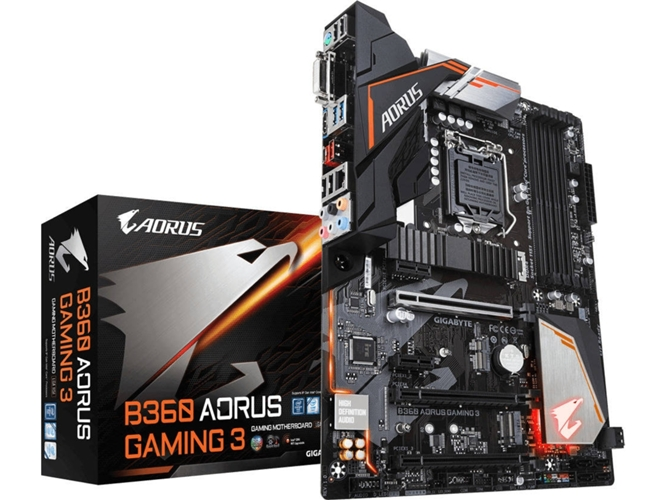 Placa Base GIGABYTE B360 Aorus Gaming 3 Wifi — LGA1151 | B360