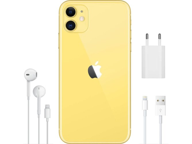 iPhone 11 APPLE (6.1'' - 64 GB - Amarillo)