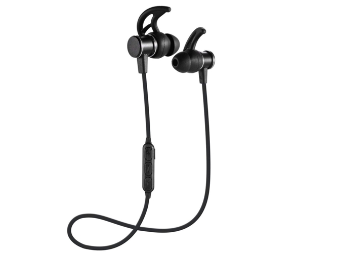Auriculares Bluetooth KLACK SLS-100 (Negro)