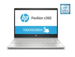 Portátil 14'' HP Pavilion x360 14-cd0008ns (i5, RAM: 8 GB, Disco duro: 256 GB SSD)