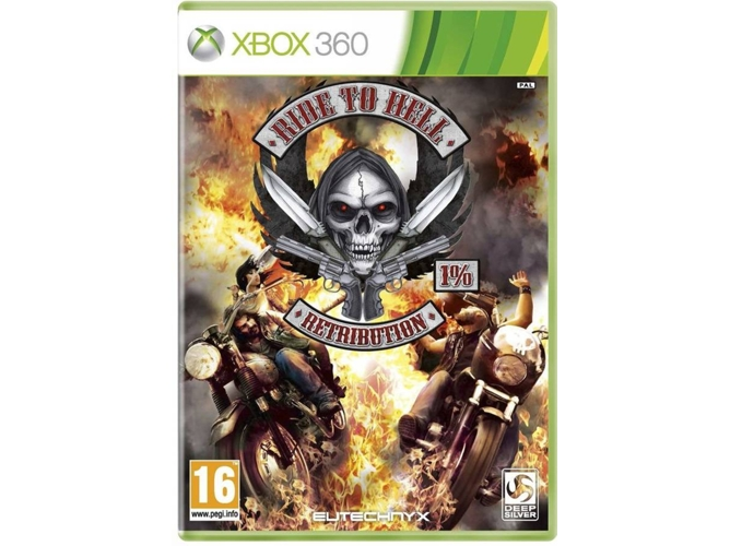 Juego Xbox 360 Ride To Hell Retribution