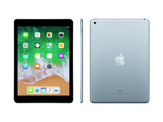 iPad APPLE Gris Espacial (9.7'' - 32 GB - Chip A10 Fusion) — iOS 10 | Full HD