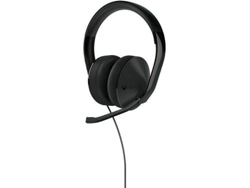 Auriculares MICROSOFT Xbox One Stereo negro — USB
