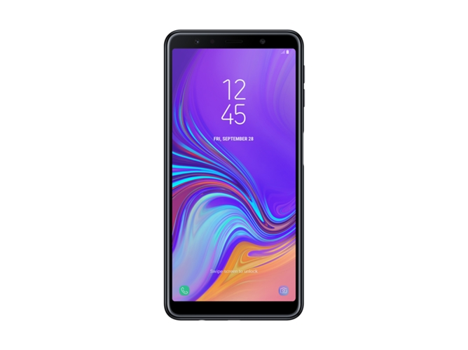 278142f15 Smartphone SAMSUNG Galaxy A7 (6   - 4 GB - 64 GB - Negro) - WORTEN
