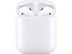 AirPods APPLE MV7N2ZM/A 2nd generation (In Ear - Micrófono - Blanco)
