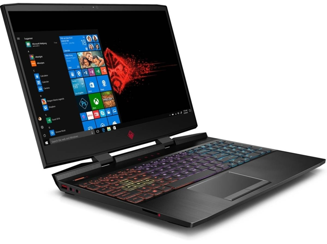 Portátil Gaming HP OMEN 15-DC1015NS (Intel Core i7-9750H - NVIDIA GeForce RTX 2060 - RAM: 16 GB - 1 TB HDD + 256 GB SSD - 15.6'') — Windows 10 Home