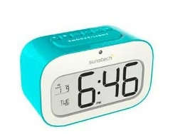 Despertador SUNSTECH CKD30BL Azul