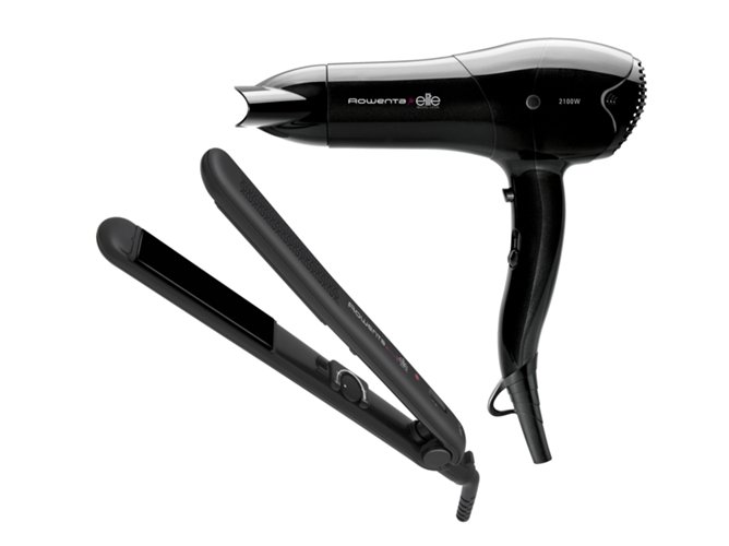 كيفية تنظيف مملّس الشعر والسيشوار!
